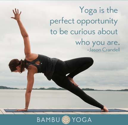 yoga is the perfect opportunity